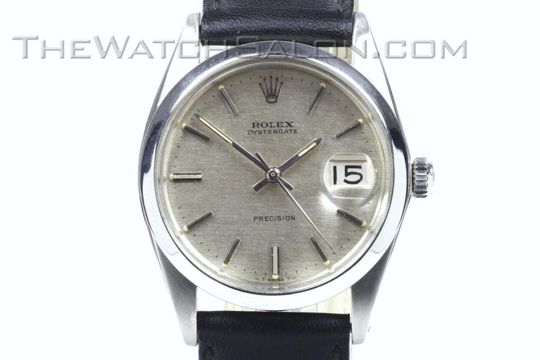 rolex oyster precision date 1968 the watch salonthe watch salon. Black Bedroom Furniture Sets. Home Design Ideas