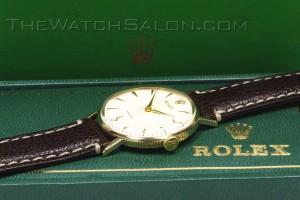 rolex 9k precision coin edge 1953