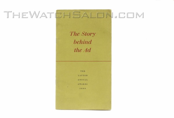 the story behind the ad booklet
