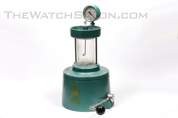 rolex water pressure tester oyster patent 1000