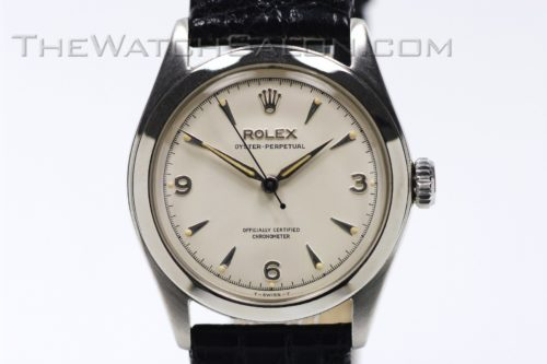 rolex oyster perpetual semi bubble back 1953