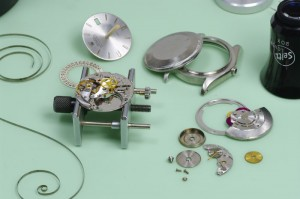 Vintage watch service and restoration ROLEX-RESTORATION-AIR-KING-DATE-5