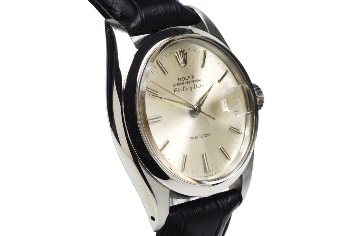 Rolex Air King Date 1966