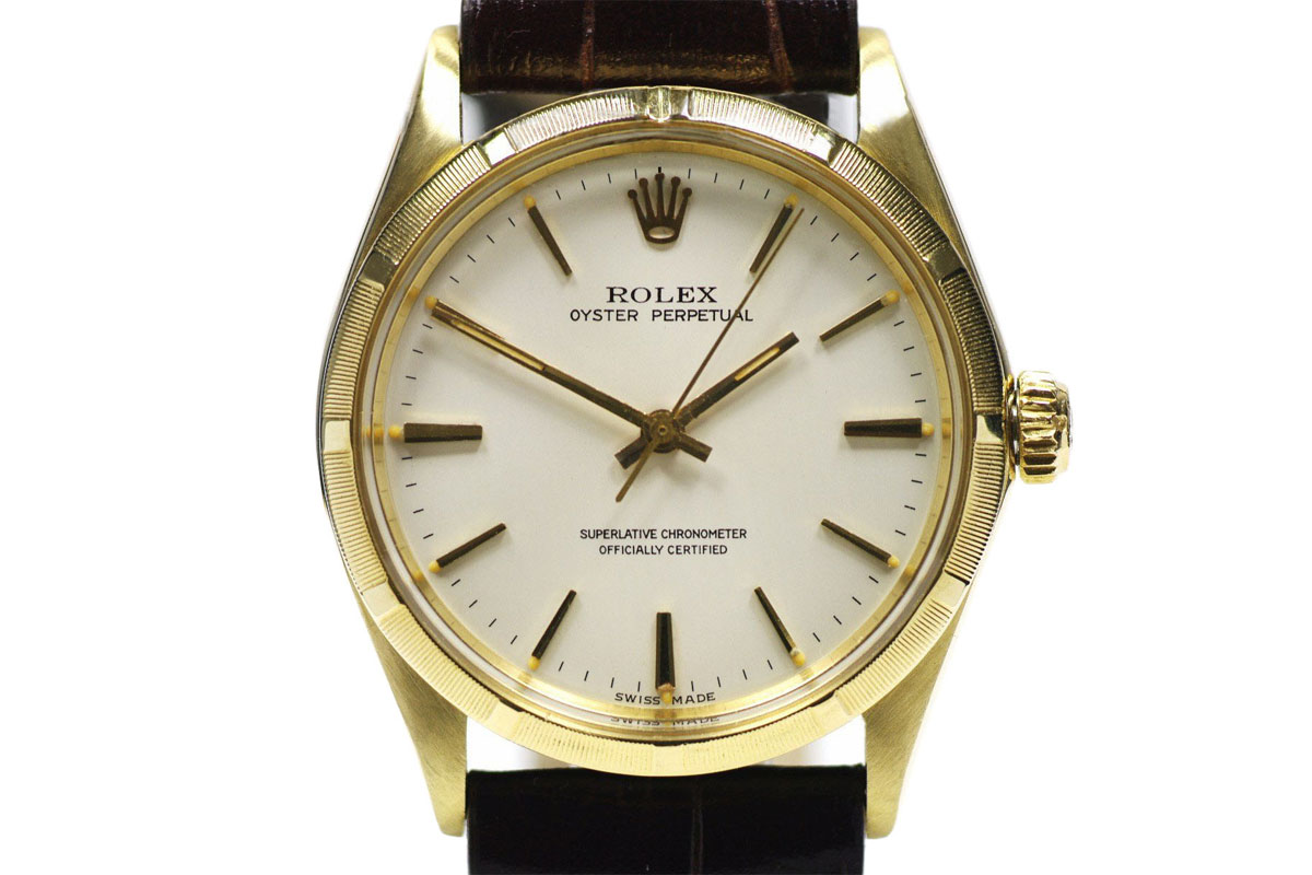 Rolex 14k Gold Oyster Perpetual 1968