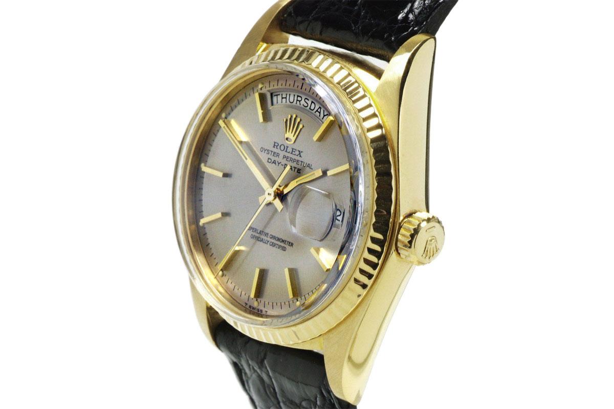 Rolex 18k Gold Presidential Day Date 1973