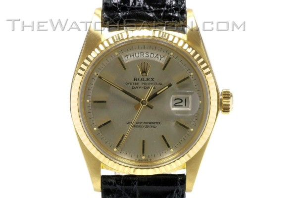 rolex 18k gold president day date 1973