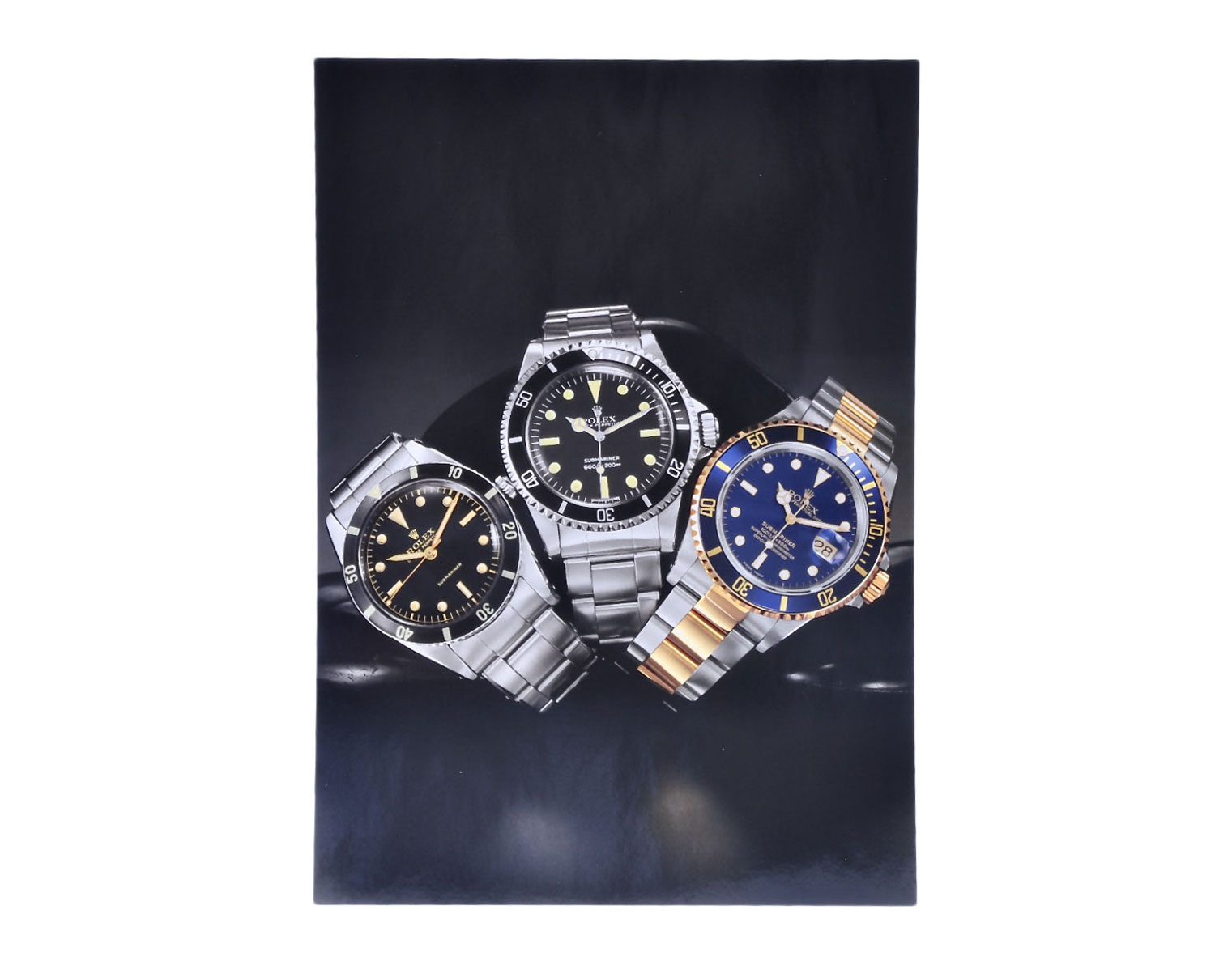 Rolex Submariner 16610lv 50th Anniversary Press Pack