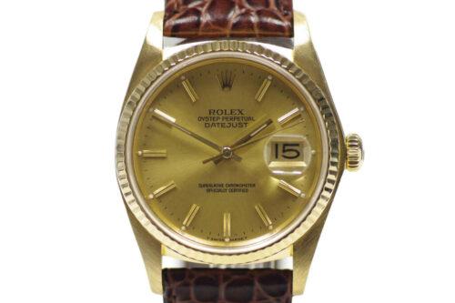 Rolex Gold Date Just 16018
