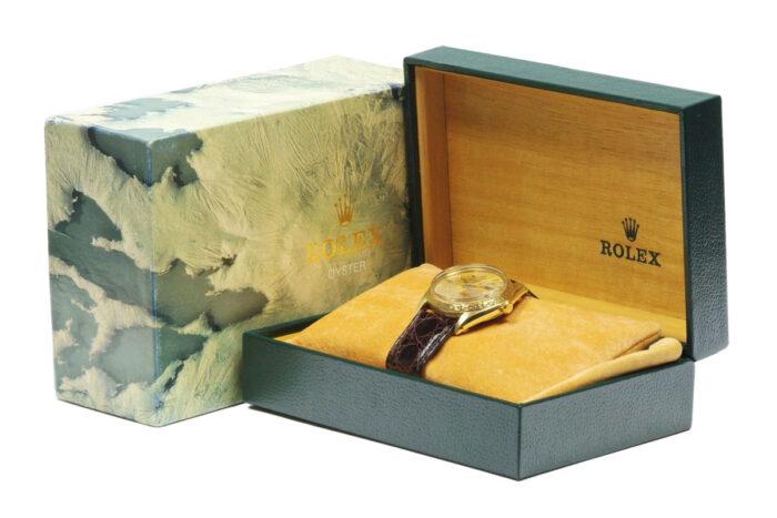 Rolex 18k Gold Oyster Perpetual Date 1966