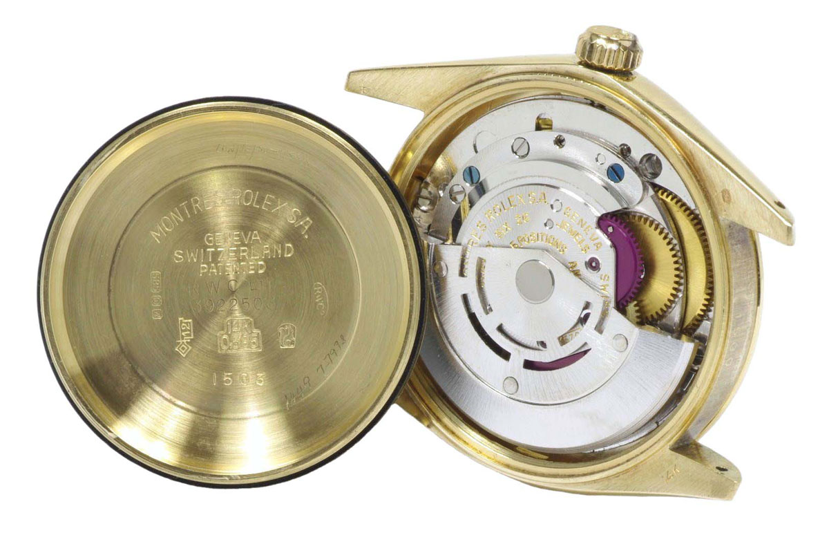Rolex Gold Perpetual Date 1975