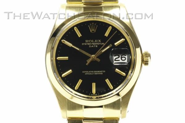 rolex 14k oyster perpetual date 1975