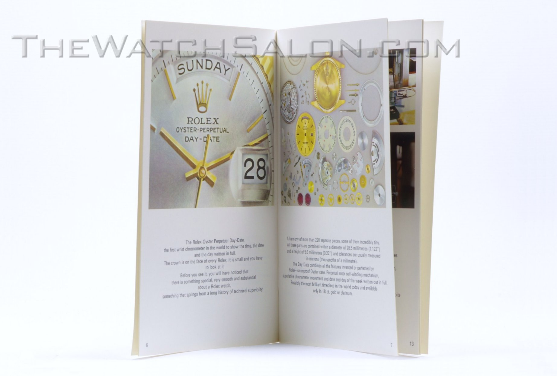 rolex of time and men booklet