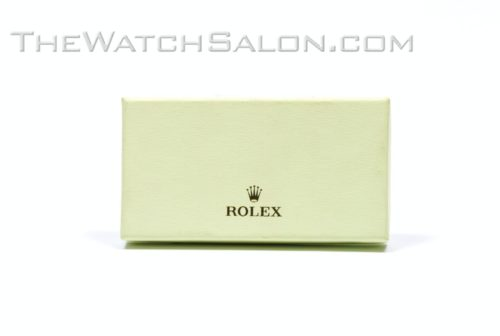 rolex keyring-solid silver-boxed