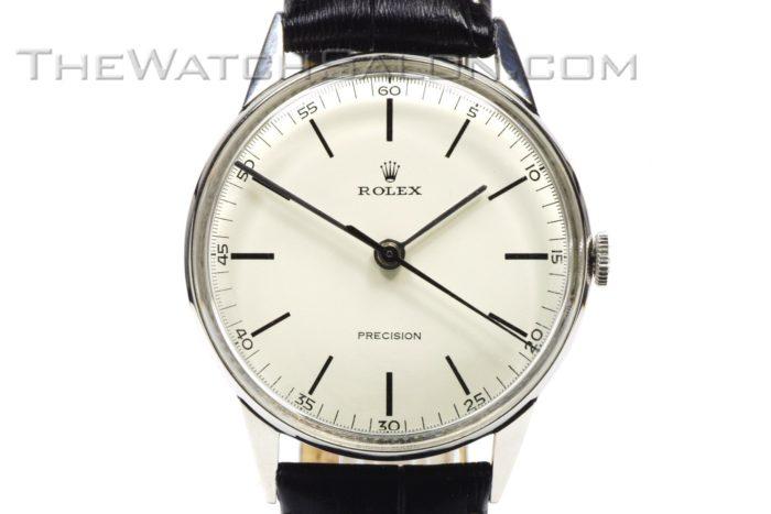 rolex ss precision 1950s