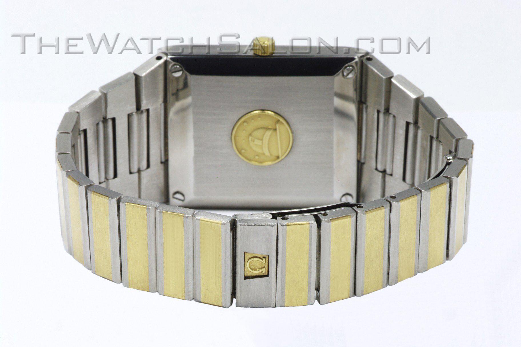 Omega 14k gold Constellation 2000 - 1975 o1 back