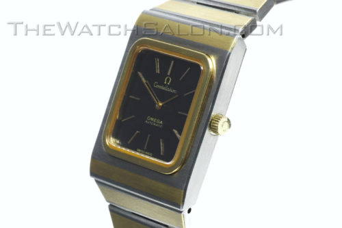 Omega 14k gold Constellation 2000 - 1975 o1 crown