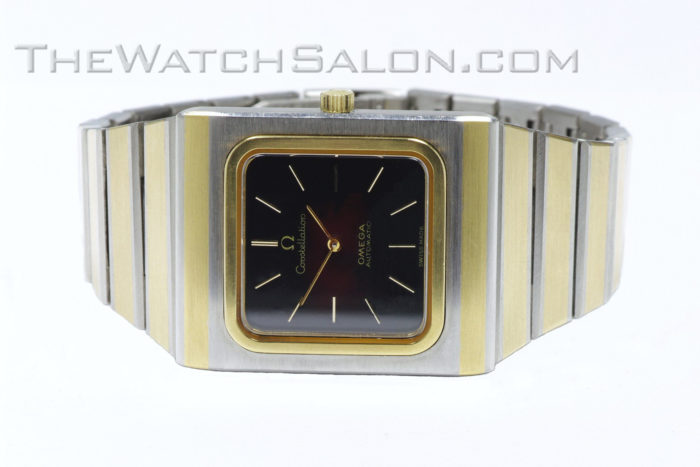 Omega 14k gold Constellation 2000 - 1975 o1 front