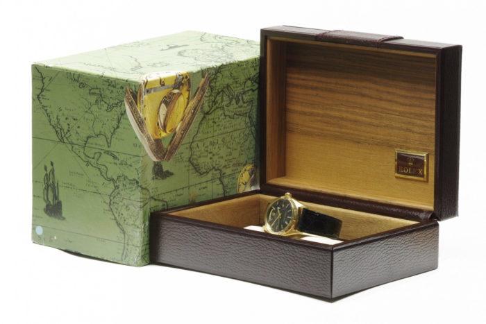 Rolex 18k gold president day date watch 1969 r56 in box 2