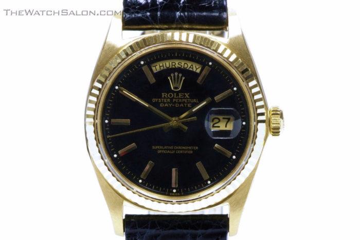 Rolex 18k gold president day date watch 1969 r56 hero