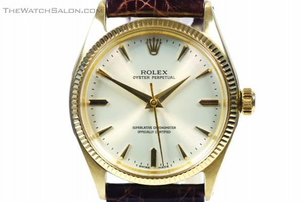 rolex 14k oyster perpetual 1961