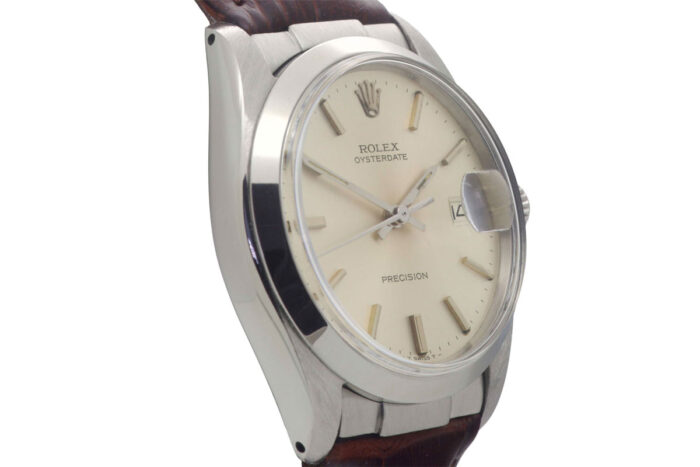 Rolex Stainless Steel Precision Date