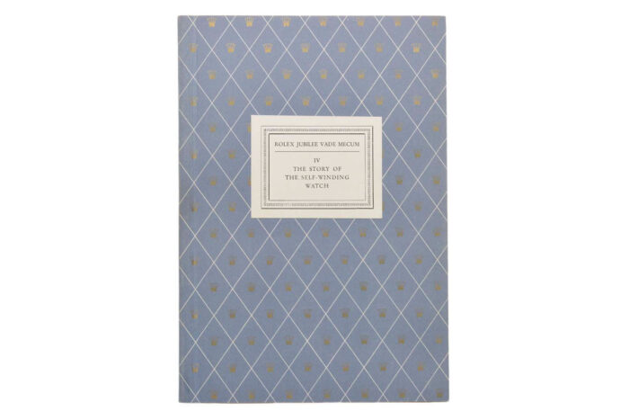 Rolex Jubilee Vade Mecum Collection No 892