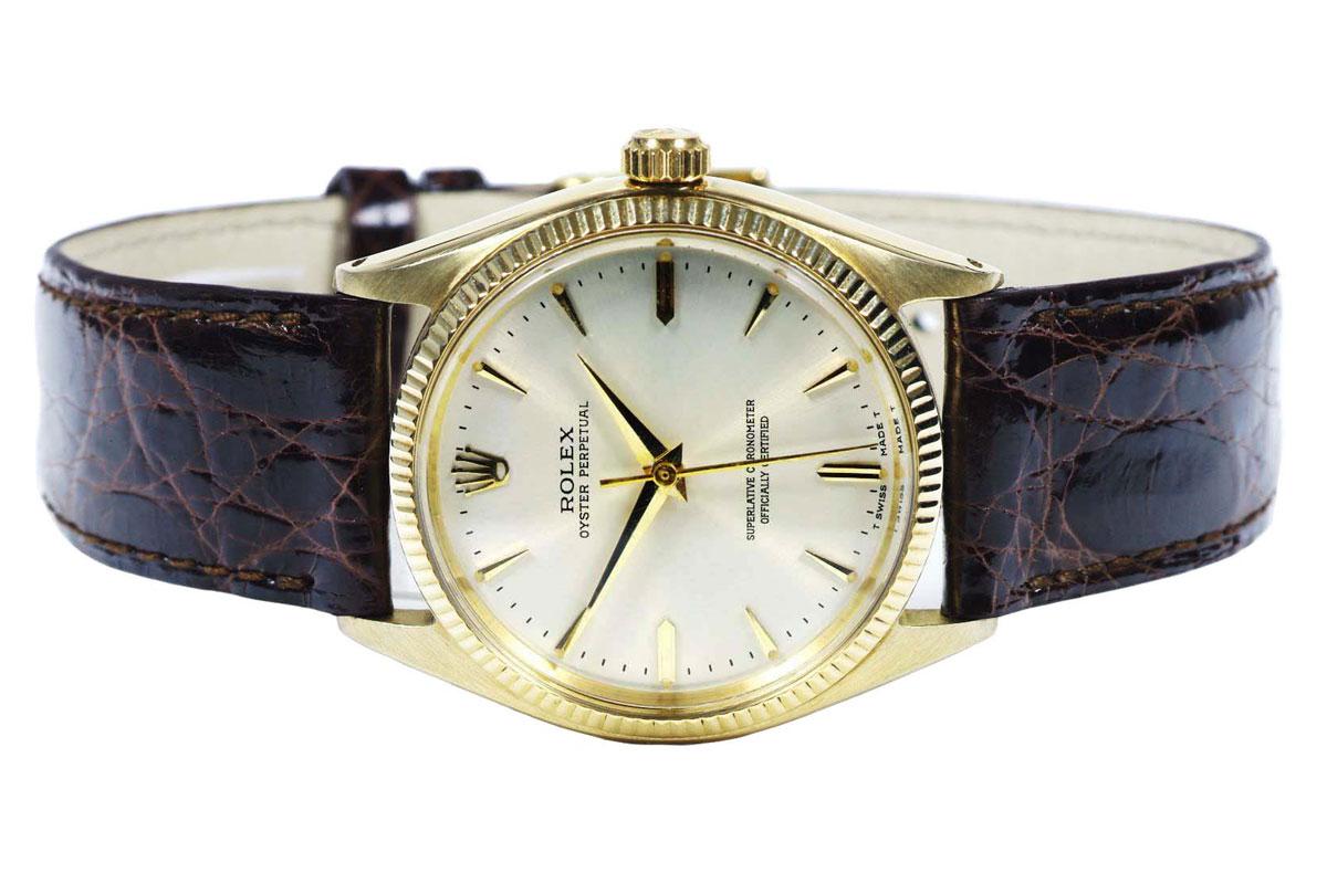 Rolex 14k Gold Perpetual 1961