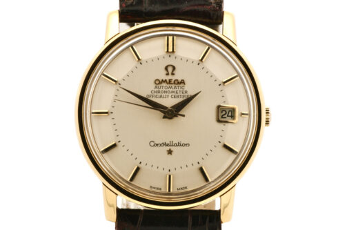 Omega 18k Gold Constellation 1966