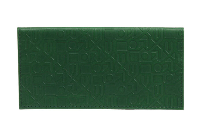 Rolex Diary / Holder in Green Leather